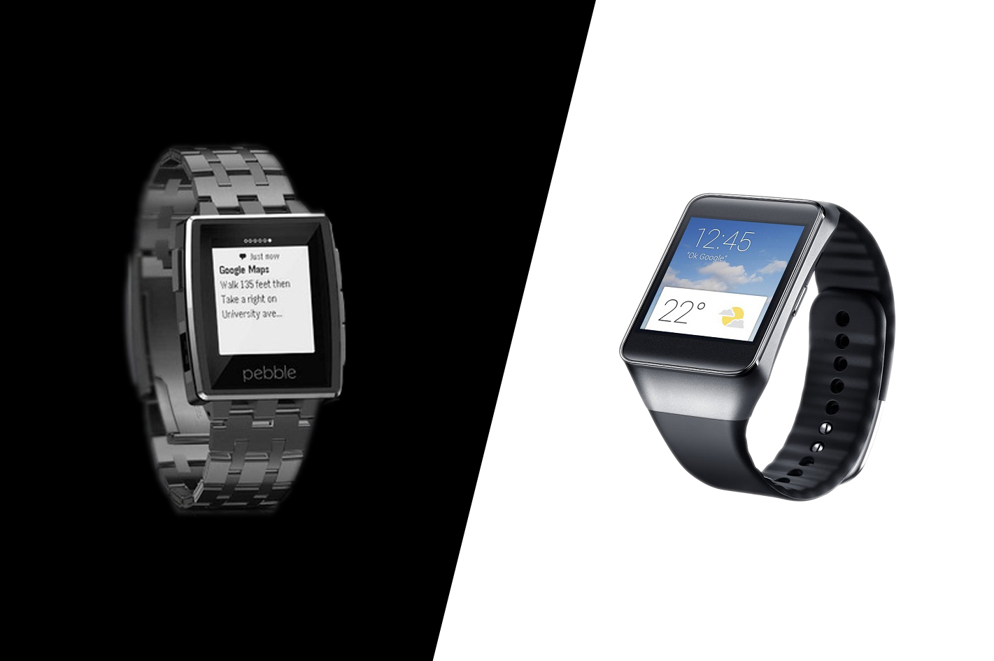 Android Wear vs. Pebble Steel: Which Is Better for Business?