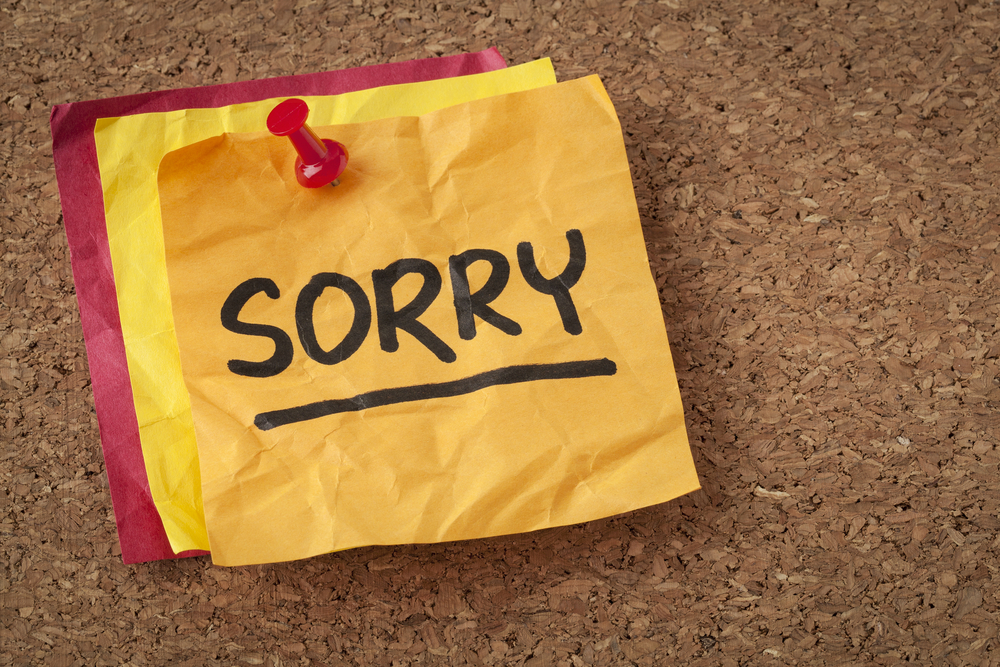 A Sorry Apology? 3 Little Words Customers Tire of Hearing