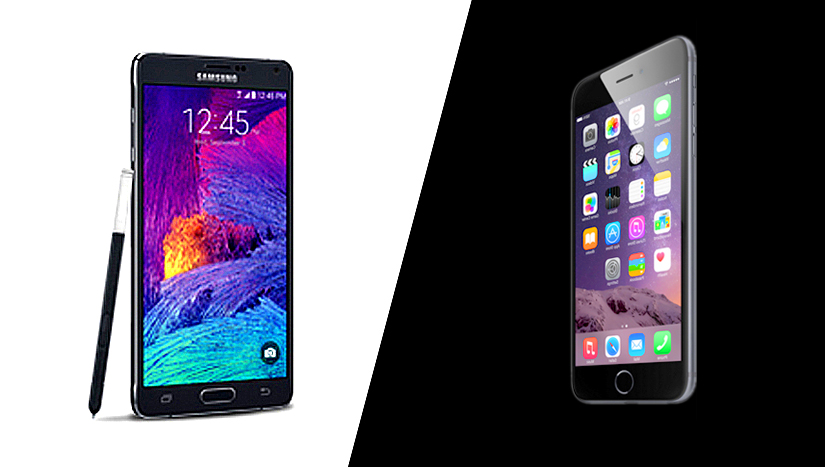 Galaxy Note 4 vs. iPhone 6 Plus: Which Is Better for Business?