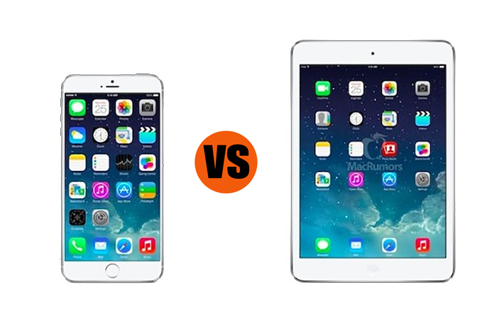 iPhone 6 Plus vs. iPad Mini with Retina Display: Which is Better for Business?