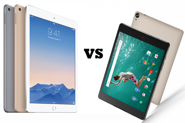 iPad Air 2 vs. Nexus 9: Which Is Better for Business?