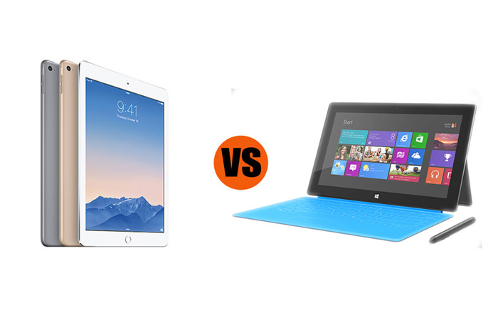 iPad Air 2 vs. Surface Pro 3: Which is Better for Business?