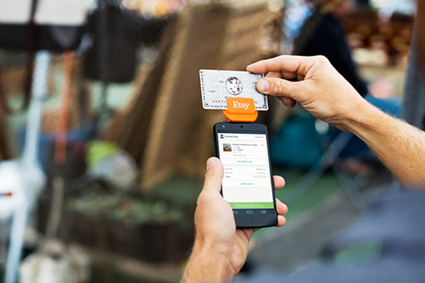 Etsy Launches Credit Card Reader for In-Person Sales