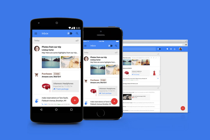 Gmail's Inbox App Makes Managing Work Email Easy