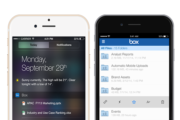 Box for iOS Now Offers Touch ID and Better Web Security