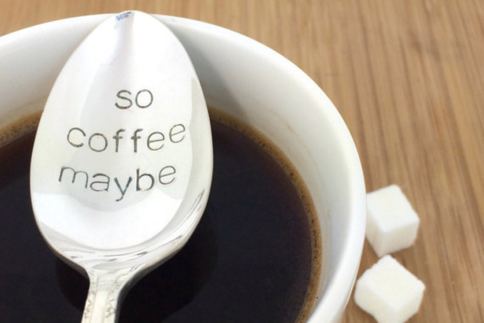 Coffee maybe spoon