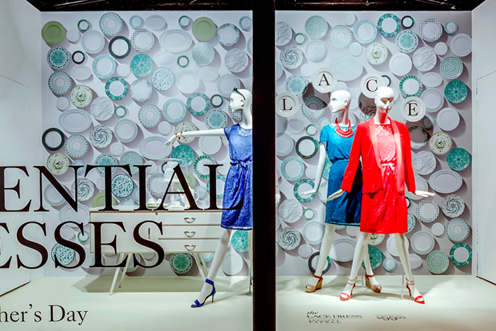 Urban Holiday Puts Sparkle in New York City Windows