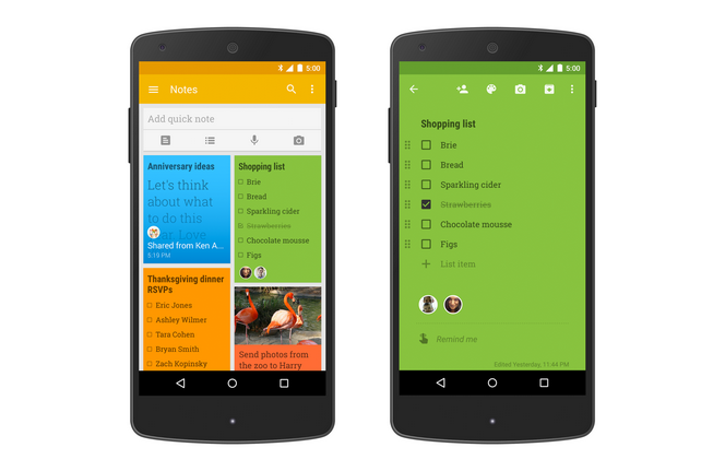 Google 'Keep' Revamp Now Lets Businesses Collaborate