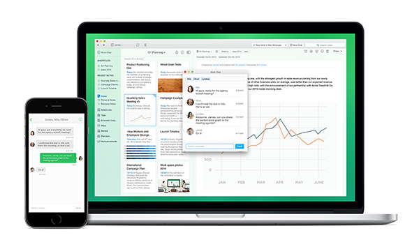 Evernote 'Work Chat' Makes Collaboration Easier for Businesses