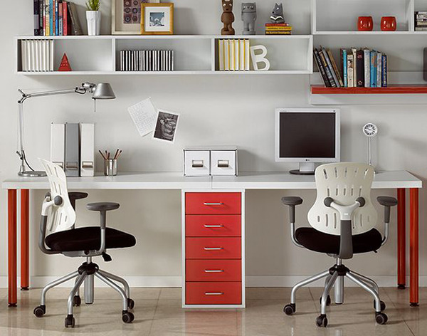 10 inspiring must follow home office pinterest boards for Home office images