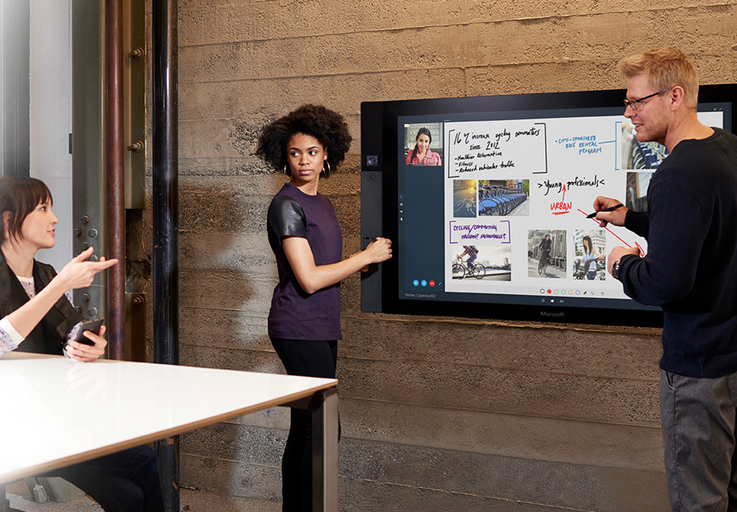 Microsoft's Surface Hub Could Be the Future of Videoconferencing