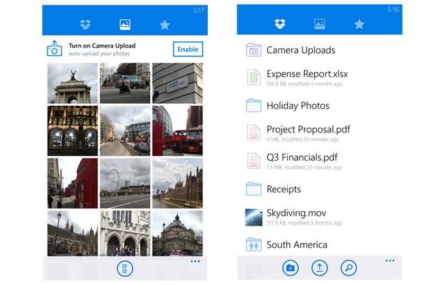 Dropbox App Now Available for Windows Phone