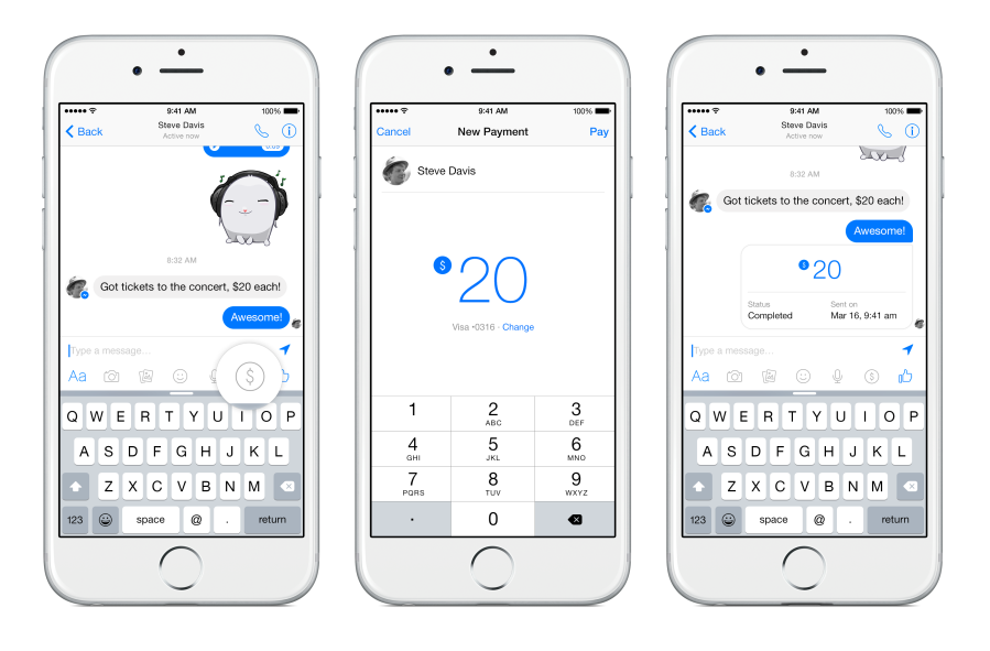 Facebook Users Can Soon Send Money Via Messenger