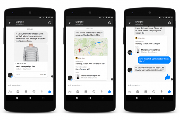Facebook Launches Messenger for Business