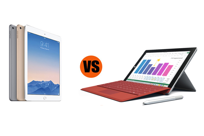 Surface 3 vs. iPad Air 2: Which Is Better for Business?