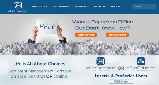 eFileCabinet Review: Best Mobile Document Management