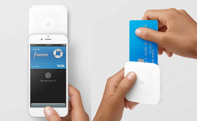 2-in-1 Square Reader Takes Apple Pay and EMV