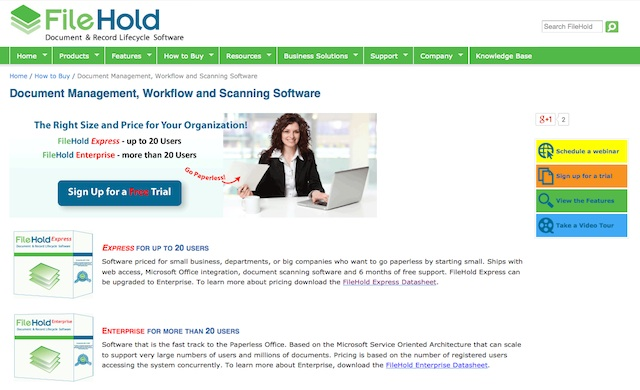 FileHold Review: Best Document Management for Windows