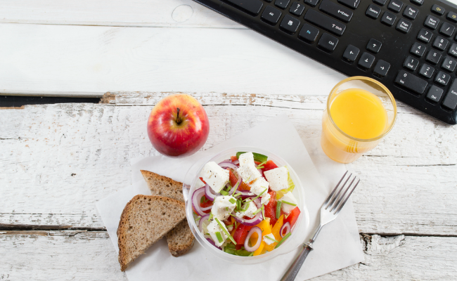 6 Tips for a Healthier, Happier Work Lunch
