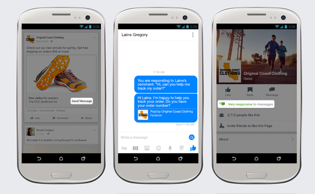 New Facebook Tool Lets Businesses Chat with Customers