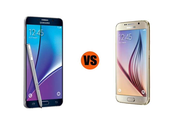 Samsung Galaxy Note 5 vs. Galaxy S6: Which Is Better for Business?