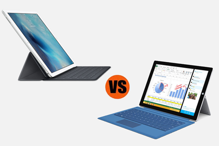 Apple iPad Pro vs. Microsoft Surface Pro 3: Which is Better for Business?