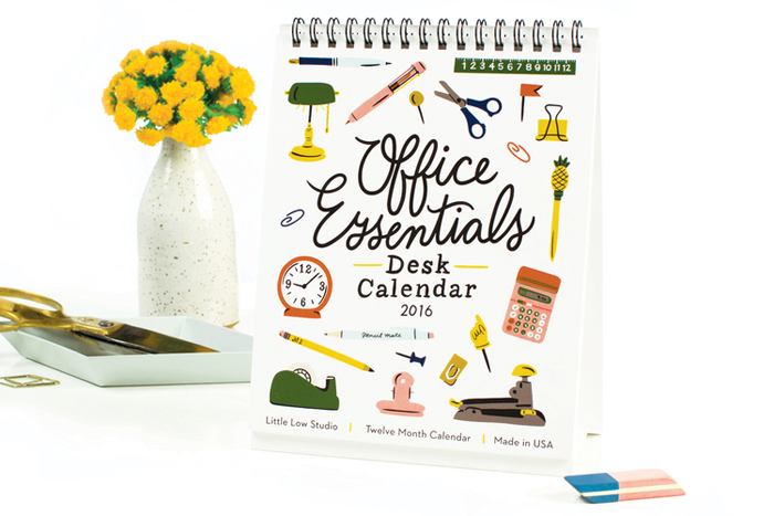 Office Essentials calendar