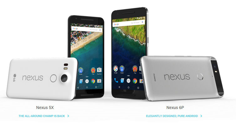 Google Nexus 5X and Nexus 6P: Top Business Features