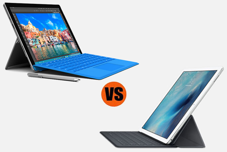 Microsoft Surface Pro 4 vs. Apple iPad Pro: Which is Better for Business?
