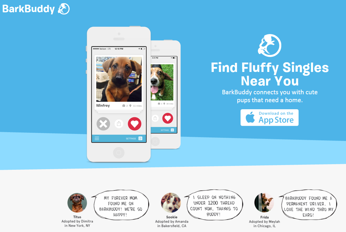 Tinder for dogs