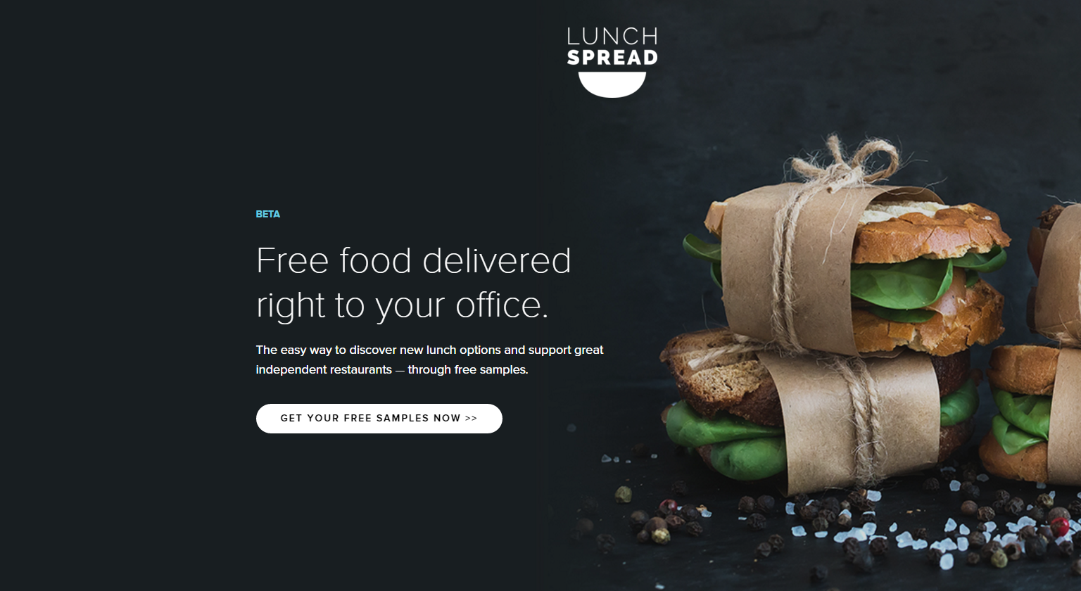 Free lunch (with a side of marketing)