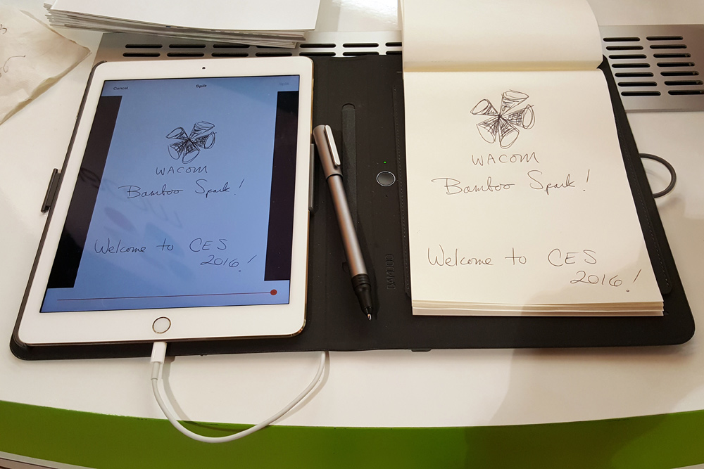 New Wacom Bamboo Spark Turns Handwriting into Text