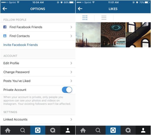 how to clear recent searches on instagram