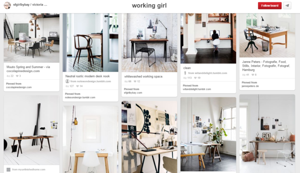 15 Inspiring Must Follow Home Office Pinterest Boards