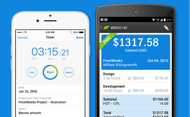 FreshBooks Review: Best Accounting Mobile App for Business