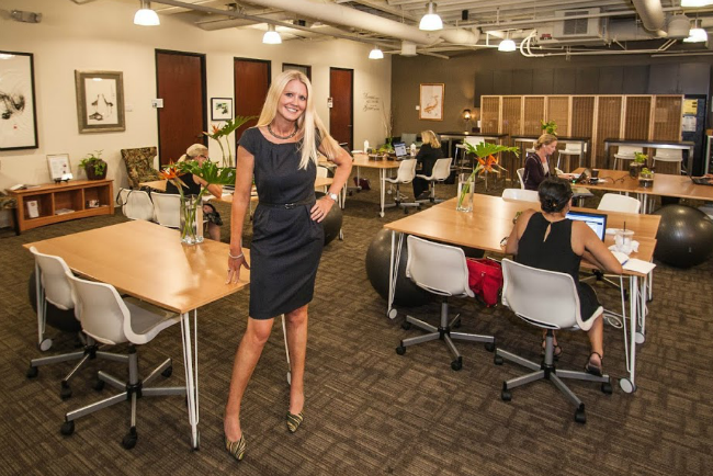Women in Business: Hera Hub's Felena Hanson on Reinvention
