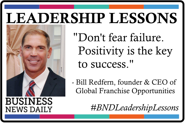 Leadership Lessons: Bill Redfern, CEO of Global Franchise Opportunities