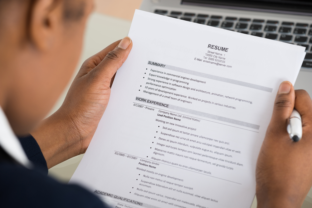9 resume mistakes to avoid if you want the