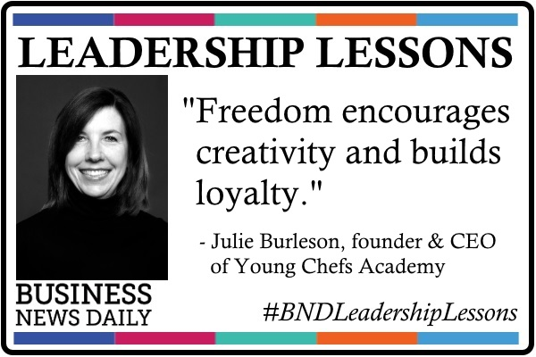 Leadership Lessons: Give Your Team Freedom
