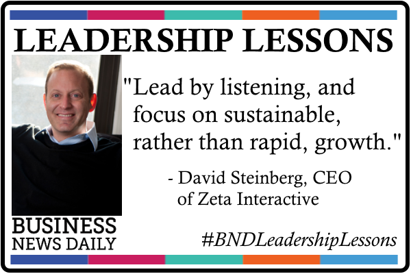 Leadership Lessons: Lead by Listening