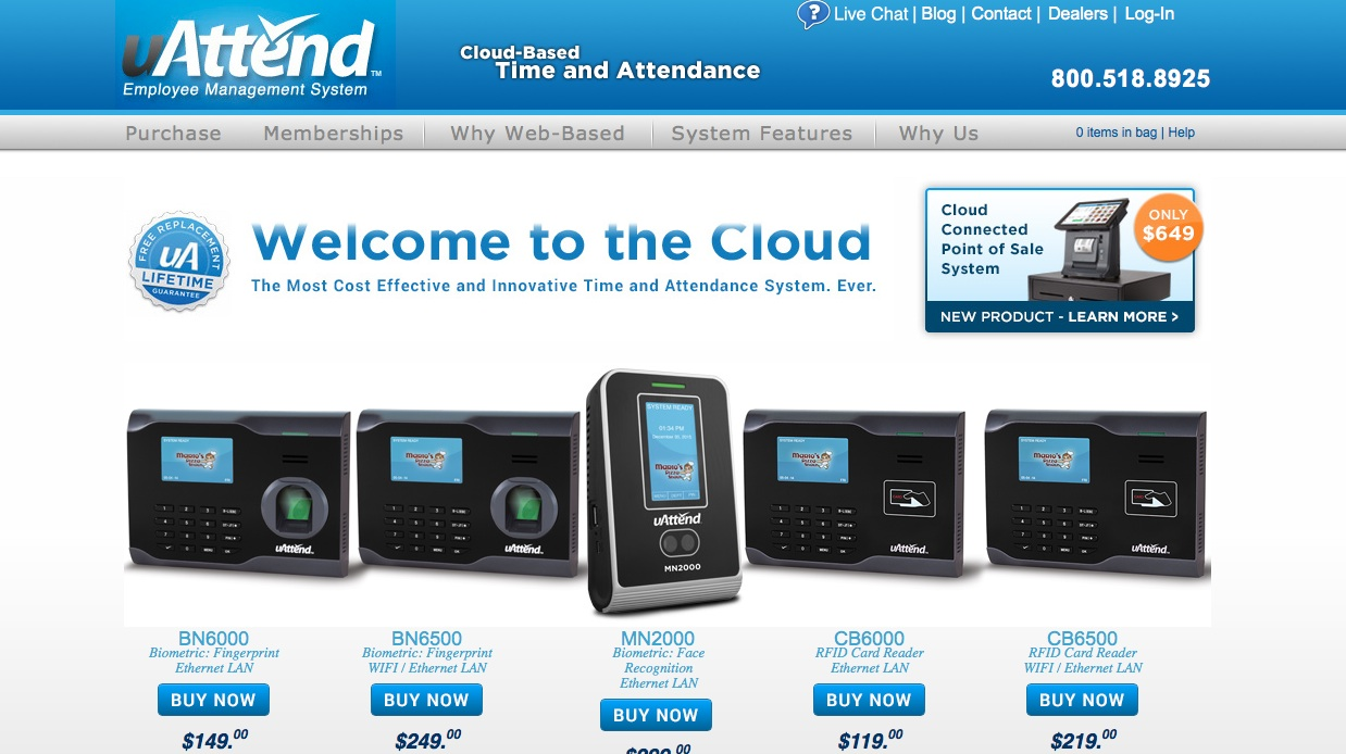 uAttend Review: The Best Time and Attendance System for Small Offices
