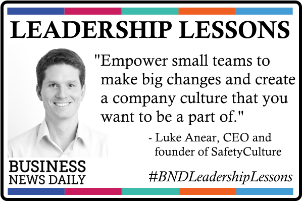 Leadership Lessons: Empower Small Teams to Make Big Changes