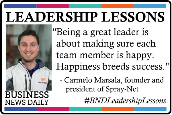 Leadership Lessons: Happiness Breeds Success