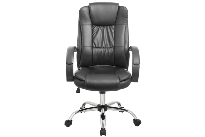 High-back executive and managerial chair, $130