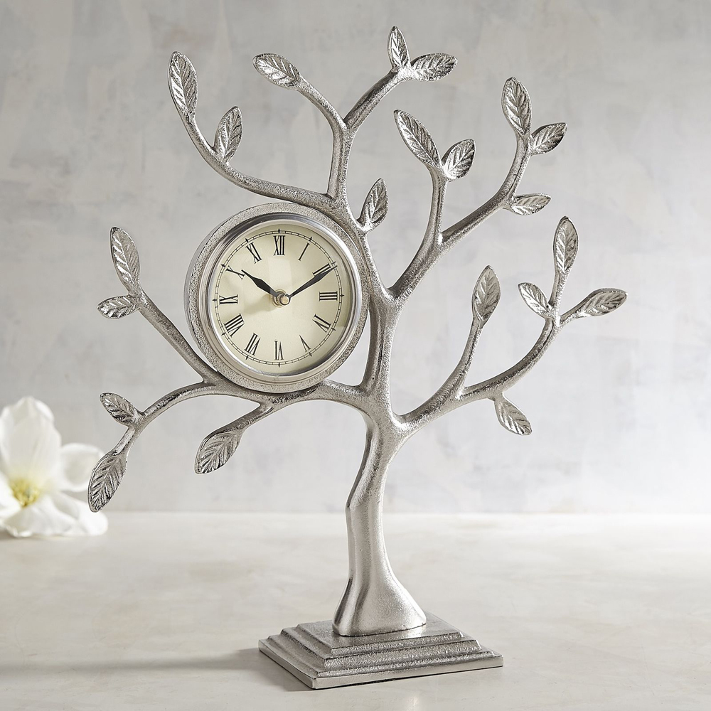 Tree desk clock, $60
