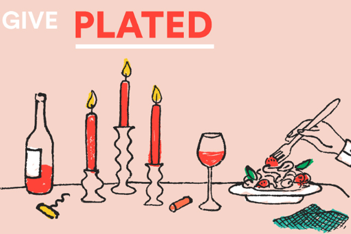 Plated gift subscription, $60