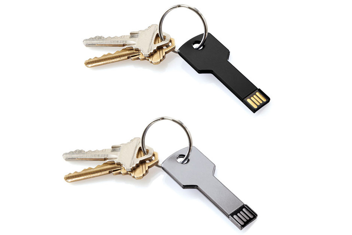 USB flash drive, $15