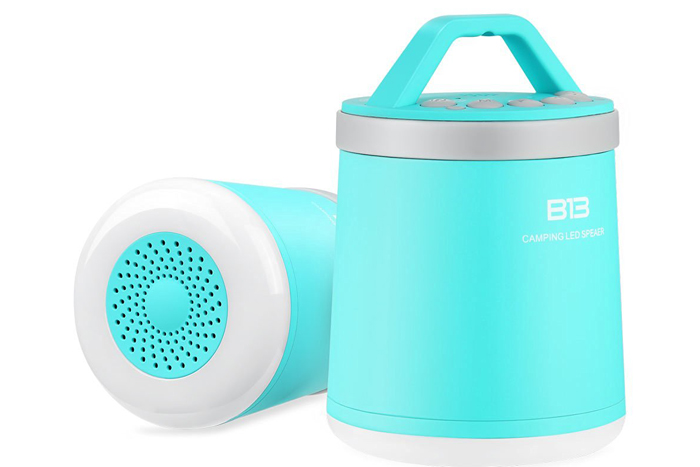 Portable wireless Bluetooth speakers, $28
