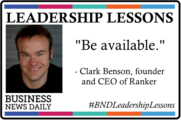 Leadership Lessons: Be Available