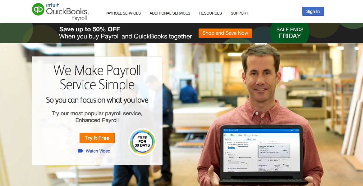 Intuit: The Best Online Payroll Service for Small Business Overall